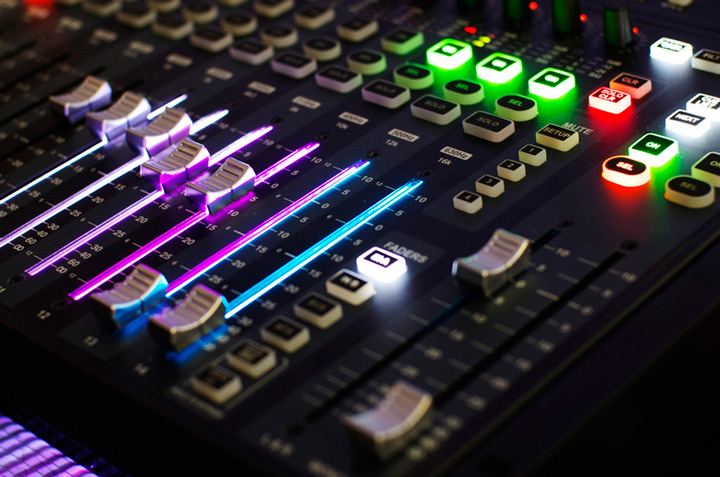 Sound-Mixing-system